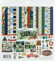 "Echo Park Paper Carta Bella Collection Kit 12""X12""-Summer Camp"