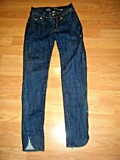 APPLE BOTTOMS STRETCH DENIM EMBELLISHED SKINNY JEANS SIZE 1/2