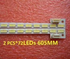 2 PCS*72 LEDs E117098 E150504 LED strip for T550HVD02.3 74.55T02.001-3-DX1