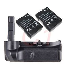 Vertical Battery Grip Holder + 2 x EN-EL14 for Nikon D5100 D5200 D5300 camera