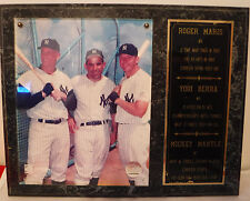 Cooperstown Collection Yankees #9 Roger Maris #8 Yogi Berra #7 Mickey Mantle