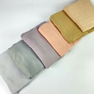 Good Quality Jersey Scarf Shawl Wrap Hijab Stretchy Big Large Plain Lycra Maxi