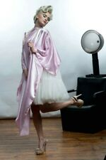 Hair Cutting Cape Salon Cape Barber Soft Pink Silky and Glossy