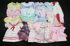 Vintage 1970s-1990s Baby Girls Lot Of 34 Clothes Sizes Nb~2T. Dresses Outfits+