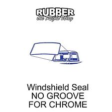 1956 Ford Truck Windshield Seal - NO GROOVE FOR CHROME