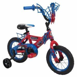 "12"" Huffy Boys Spider-Man Bike"