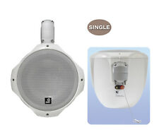 2x E-Audio B407A 20cm  2-Wege PA-Lautsprecher Party Boxen Gastro weiss PAAR 8