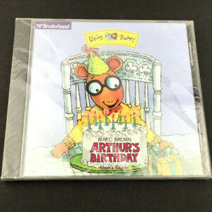 Broderbund Arthur's Birthday Marc Brown Educational CD-ROM Windows/Mac 1997