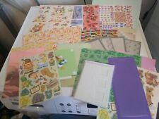 PACKAGE HOBBYCRAFTS  FOR MAKE CARDS/CRAFTS NEW (HC05) MIX