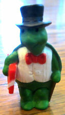Hallmark Merry Miniatures Turtle With Gift Present 1991