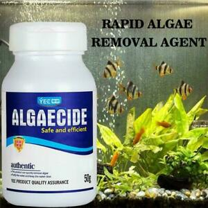 CrystalClear Algae Repellent Agent - tank moss remover Algaecide Aquarium H0W8