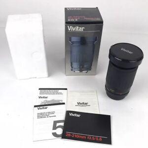 Vivitar 28-210mm F3.5-F5.6 Marco 1:4x For Nikon RARE New Dead Stock
