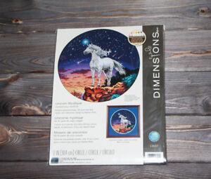 Dimensions Counted Cross Stich Unicorn Mystique 13657