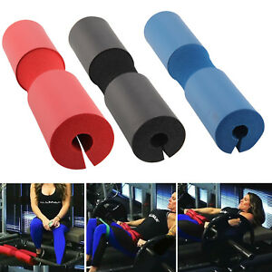 New Foam Padded Barbell Bar Cover Pad Weights Lifting Shoulder Backs Support