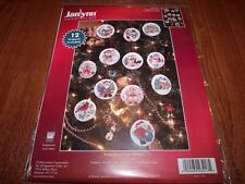 Janlynn HOLIDAY FAVORITES Ornaments Counted Cross Stitch Kit Makes 12!