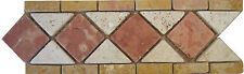 Rosoni in marmo, mosaici greca cm30x10 IN MARMO art 101/8