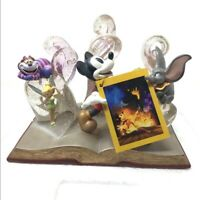 DISNEY 75TH ANNIVERSARY COMMEMORATIVE STORYBOOK FIGURINE