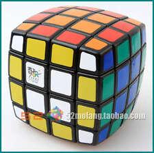 Qiji 4x4x4 Cube ABS Ultra-smooth Professional Speed Cube Rubik's Puzzle Twist