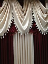 Luxurious HYATT WINDOW TREATMENT,window curtain: Panel OR valance, SOLD SEPARATE