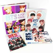 BTS  K- Pop Kings 4 Books Young Adult Collection Set By Helen Brown
