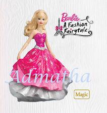 2010 Hallmark MAGIC Lighted Dress Ornament BARBIE FASHION FAIRYTALE Priority Shp