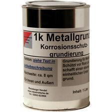 Metallgrundierung, Rostschutz Grundierung, Grundanstrich, grau, 1 Liter