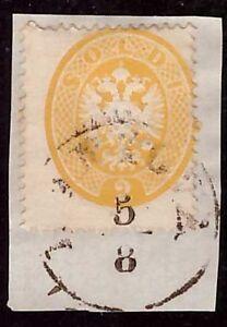 LOMBARDO VENETO 1863 - 2 s. n. 36 USATO A MANTOVA SPL € 350