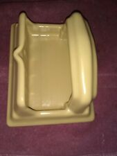 VINTAGE BATHROOM CERAMIC  WALL MOUNT  SOAP DISH         #31