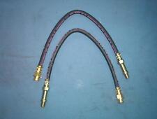 Brake hose set 2 hoses Chevrolet Corvette front 1963-1982 Made in USA