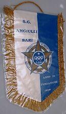 Gagliardetto Calcio S.G. Angiulli Bari 1909 misure 20x28 cm + cordoncino