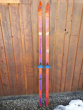 """Ready to Use Cross Country 75"""" JARVINEN 195 cm Skis Waxless"""