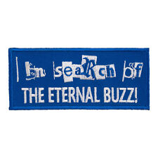 Search Eternal Buzz Embroidered Patch, Alcohol Sayings Patches