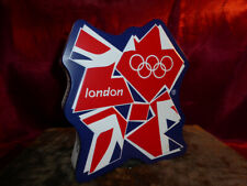 London 2012 Olympics shaped Marks & Spencer Biscuit Tin (Union Flag) Sports