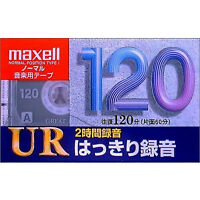 maxell Recording cassette tape Normal / Type1 120 minutes UR-120L [NEW] JAPAN