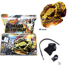 L-Drago Destructor (Destroy) GOLD Armored Metal Fury 4D Beyblade System Kids Toy