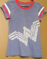 DC COMICS Wonder Woman Shirt/Top in Blue (MEDIUM)