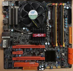 DFI LAN PARTY JR P45 E7600 Core2 3.0Ghz CPU 8GB RAM