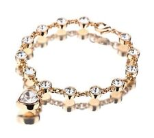 Gelbgold beschichtete Swarovski Modeschmuck-Armbänder