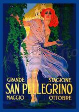 San Pellegrino 42cm x 60cm High Quality Art Poster Print