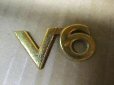"""TOYOTA CAMRY 97-99 1997-1999 """" V6 """" EMBLEM GOLD OE ORIGINAL EQUIPMENT"""