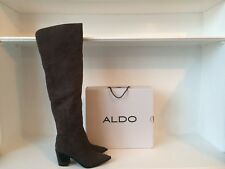 Aldo Olena over the knee leather boots brand new in box size 5.5