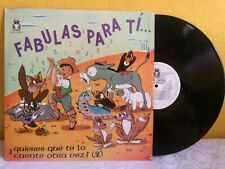 GRACIELA OROZCO-ANGEL CASARIN FABULAS PARA TI... MEXICAN LP TALES CHILDREN