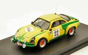 1/43 Trofeu renault alpine a110 n°22 roothaert nijs 1976 ypres  Livrais Domicile