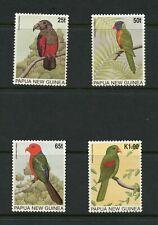 T687  Papua New Guinea  1996   birds  4v.     MNH