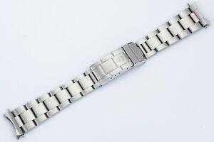 Rolex Steel Oyster Flip Lock Bracelet 93150 593 20mm Ends for 16800 Submariner!
