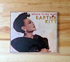"""CD AUDIO MUSIQUE / EARTHA KITT """"WHERE IS MY MAN""""  CDM 1993 SCORPIO MUSIC 1993"""