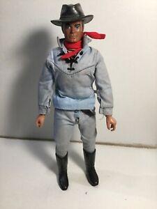 """Gabriel Marx Lone Ranger Figure 10"""" 1970's"""