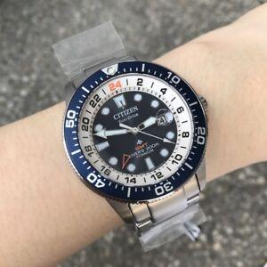 Citizen Promaster Diver Watch * BJ7111-86L Blue Dial Titanium Case and Strap
