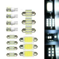 14x LED White Car Inside Interior Light Kit Dome Mirror License Plate Lamp Bulb