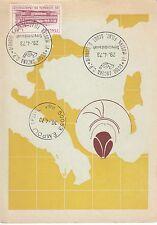 8801) SCOUTISMO, ANCONA 1973, ANNULLO 4 MOSTRA FILATELICA SCOUT SULLA CARTOLINA